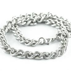 Masivní řetěz na krk z chirurgické oceli  H3S0161