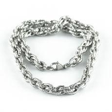 Masivní řetěz na krk z chirurgické oceli  H3S0162