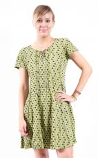 Šaty  - tunika CANDY STRIPE - 100% bavla z Nepálu  NT0048  74  006 | Velikost L, Velikost XL, Velikost XXL