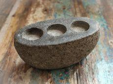 Stojan na čajové svíčky (svíčník) kámen  ID1601804-01