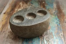 Stojan na čajové svíčky (svíčník) kámen  ID1601804-02