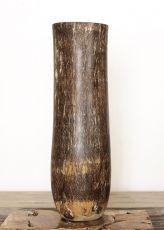 Váza kokosová palma s řezbou 80 cm,  Indonésie ID1703702-02