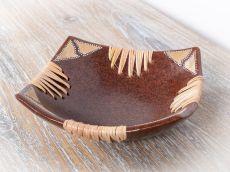 Terakotová mísa - talíř, terracota, keramika Lombok -  ID1712005-02