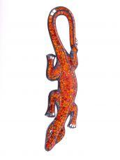 Dekorace na zeď Ještěrka červená 40 cm - ID1715038-07