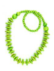 Dřevěný náhrdelník  IS0042-02-042
