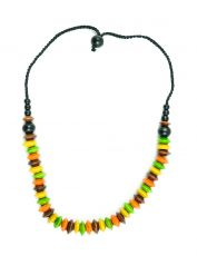 Dřevěný náhrdelník  IS0042-02-050