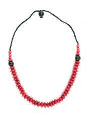 Dřevěný náhrdelník  IS0042-02-046