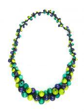 Dřevěný náhrdelník MULTI - IS0042-02-0´39