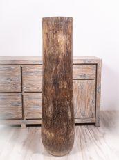 Váza kokosová palma s řezbou 120 cm,  Indonésie ID1702802-02
