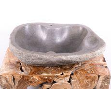 Kamenné umyvadlo z říčního kamene - ID172005