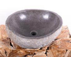 Kamenné umyvadlo z říčního kamene - ID172008