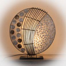 Lampa (stínítko) z přírodních materiálů Bali 016  ID1605501-01
