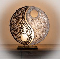 Lampa (stínítko) z přírodních materiálů Bali 017  ID1605502-01