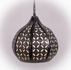 Stropní svítidlo (stínítko) z přírodních materiálů Bali 017  ID1703805