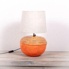 Stolní lampa (stínítko) z přírodních materiálů Bali 203  ID1705004