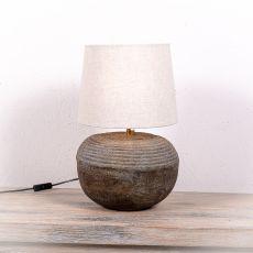 Stolní lampa (stínítko) z přírodních materiálů Bali 204  ID1704130