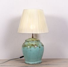 Stolní lampa (stínítko) z přírodních materiálů Bali 205  ID1705007A