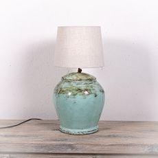 Stolní lampa (stínítko) z přírodních materiálů Bali 206  ID1705007B