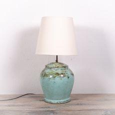 Stolní lampa (stínítko) z přírodních materiálů Bali 207  ID1705007C