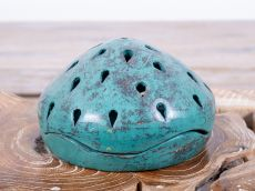 Lampička na svíčku keramická - terracota  ID1703021-01