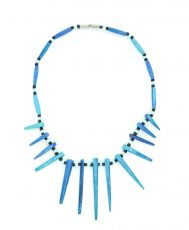 Modrý náhrdelník - IS0042-02-056