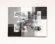 Ručně malovaný obraz na dřevěném rámu 80 x 60 cm  ID1725212