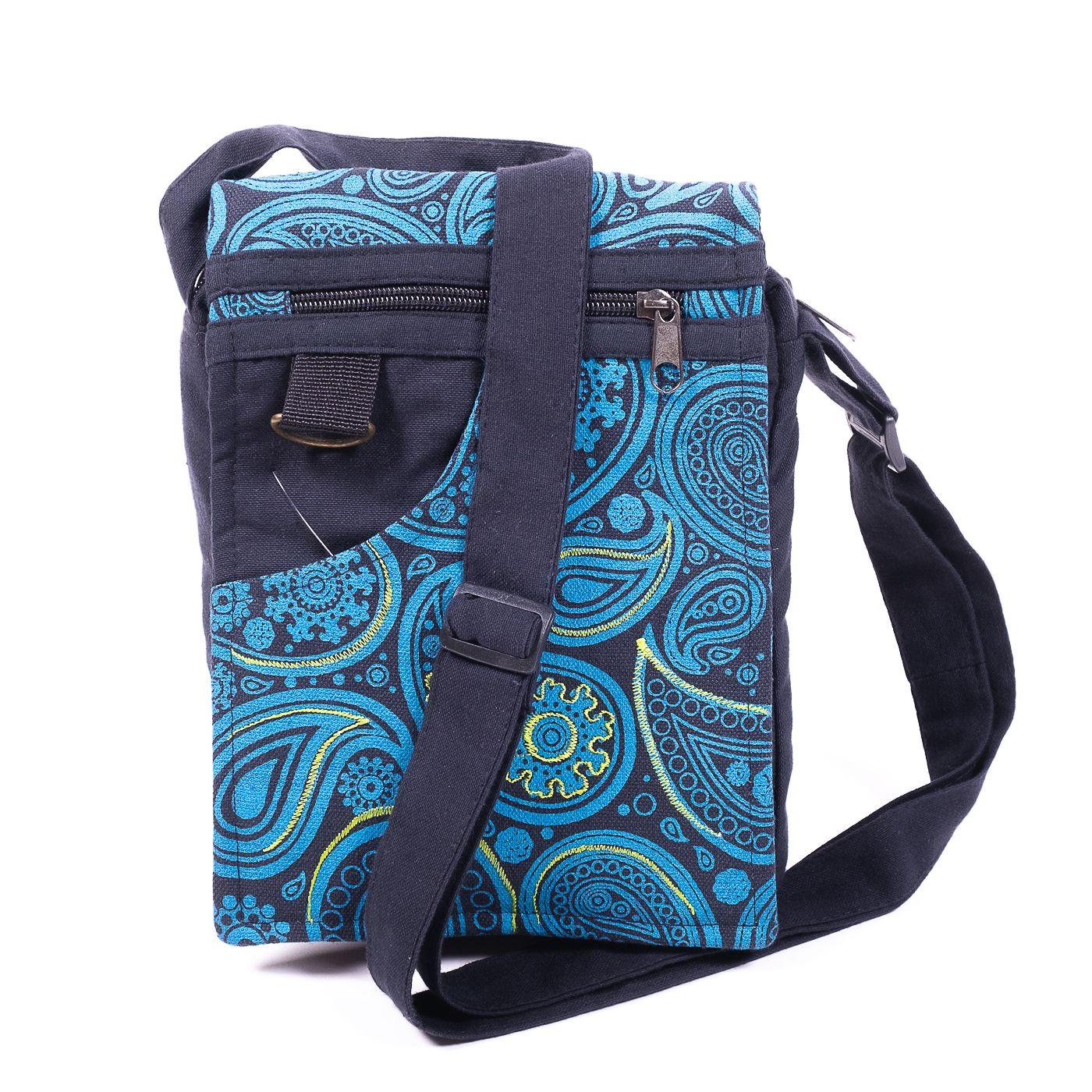 Taška na doklady BORA, kanvas, ruční výroba Nepál - NT0041-04-014 KENAVI