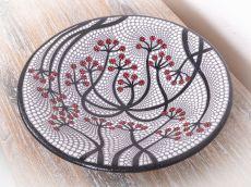 Terakotová mísa - talíř, terracota, keramika Lombok  ID1712511-03