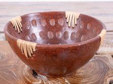 Terakotová mísa - talíř, terracota, keramika Lombok -  ID1703017-02
