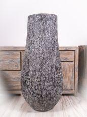 Váza kokosová palma s řezbou 120 cm,  Indonésie ID1601902
