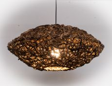 Závěsné svítidlo (stínítko) z přírodních materiálů Bali 508  IID1606401