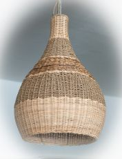 Závěsné svítidlo (stínítko) z přírodních materiálů Bali 504  ID1606406A