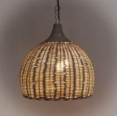 Závěsné svítidlo (stínítko) z přírodních materiálů Bali 502  ID1606202