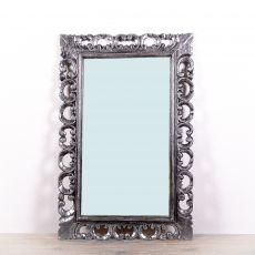 Zrcadlo s rámem z masivního 88 x 57 cm  - ID1600901