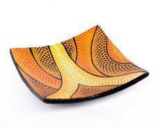 Terakotová mísa - talíř, terracota, keramika Lombok -  ID1715028C