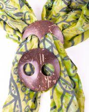 Kokosová spona na vázání plážových šátků (sarongů)  IS0040-005