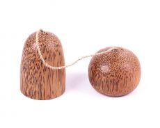 Kořenky  z kokosového dřeva spojené  - ID17253006