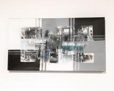 Ručně malovaný obraz na dřevěném rámu 110 x 60 cm  ID17252010