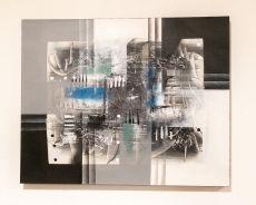 Ručně malovaný obraz na dřevěném rámu 100 x 80 cm  ID17252011