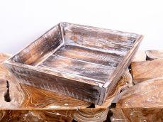 Tác (podnos, přepravka) ze dřeva albesia  - ID1607204