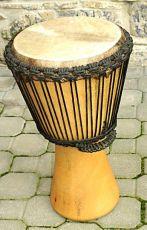 Buben DJEMBE pro pokročilé bubeníky - tři obruče!!