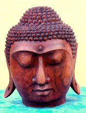 Buddha hlava - socha 24 cm