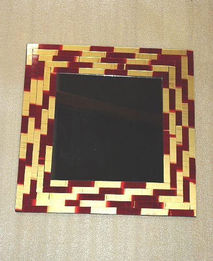 Dekorativní zrcadlo 40 cm