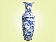 Keramická váza malovaná 80 cm