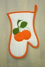 Kuchyňská rukavice pomeranč