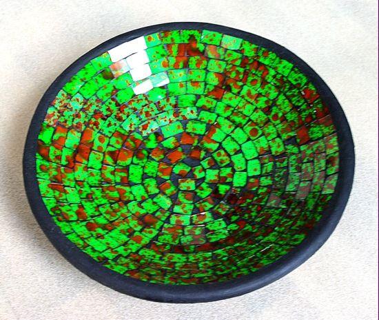 Mísa se skleněnou mozaikou ID0023 005