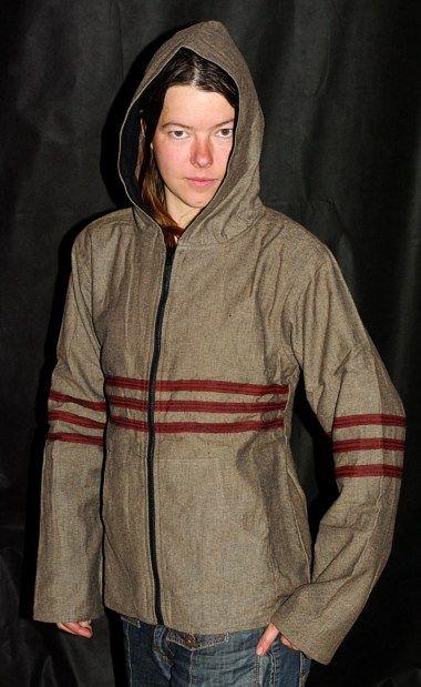 Plátěná bunda s fleesovou podšívkou NT0013 002