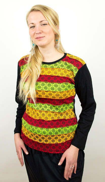Designové tričko s dlouhým rukávem SEWY 1 NT0100 03 038 KENAVI