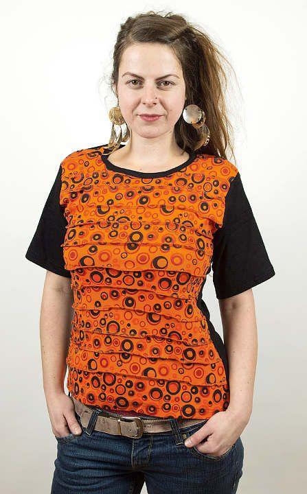 Designové tričko s krátkým rukávem SEWY 1 NT0100 02 042