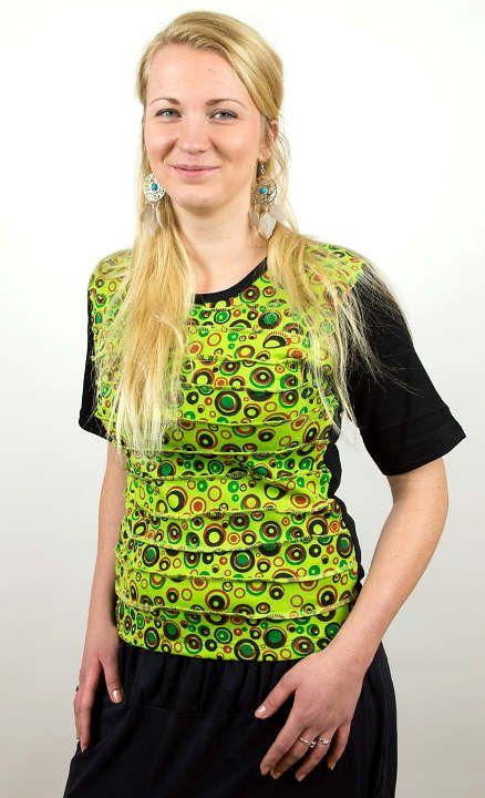 Designové tričko s krátkým rukávem SEWY 1 NT0100 02 043 KENAVI